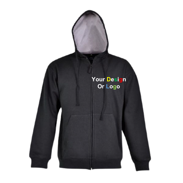 Pic-a-Tee Zipped hoodie with free print